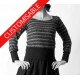 Haut maille ou jersey, manches 3/4 - PERSONNALISABLE