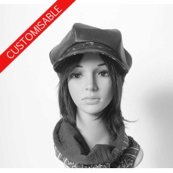 Newsboy cap hat - CUSTOM HANDMADE