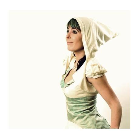 Boléro blanc original de mariée à capuche achat en ligne