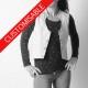 Sleeveless women's vest - CUSTOM HANDMADE