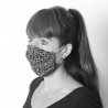 Non sanitary, washable fabric face mask - CUSTOM HANDMADE