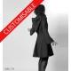 Manteau femme créateur à capuche