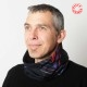 Col Echarpe idée cadeau pour homme Homme Patchwork de tissus coton soie, marine, violet, rouge