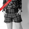 Short femme, ceinture extensible - PERSONNALISABLE