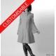 Womens pixie coat with hood, custom-sized