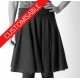 Very flared jersey skirt - CUSTOM HANDMADE