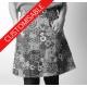 Short A-line skirt with pockets - CUSTOM HANDMADE