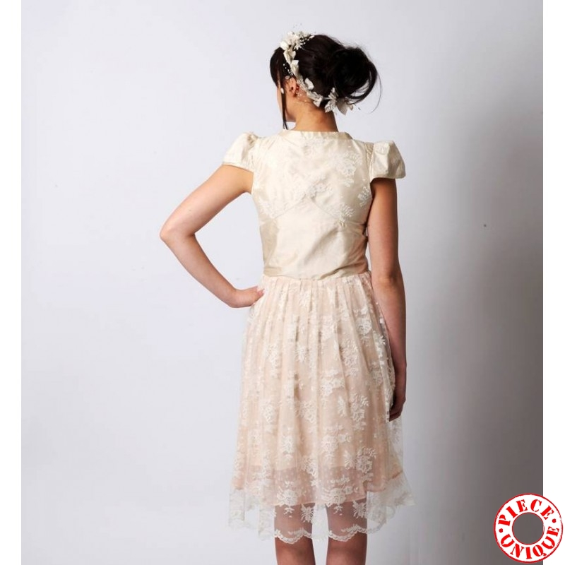MARIAGE > Robes de mariée originales > Robe de mariée ivoire en ...