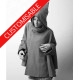 Goblin Hood Cape with sleeves YOUR SIZE AND CUSTOM HANDMADE