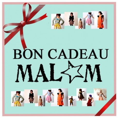 Bon cadeau Malam, Vêtements et accessoires