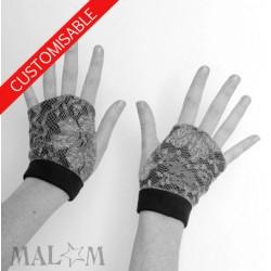 Fingerless gauntlets - CUSTOM HANDMADE