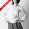Womens blouse or tunic, long or 3/4 sleeves - CUSTOM HANDMADE