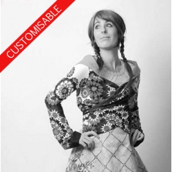 Transformable wrap shrug - CUSTOM HANDMADE